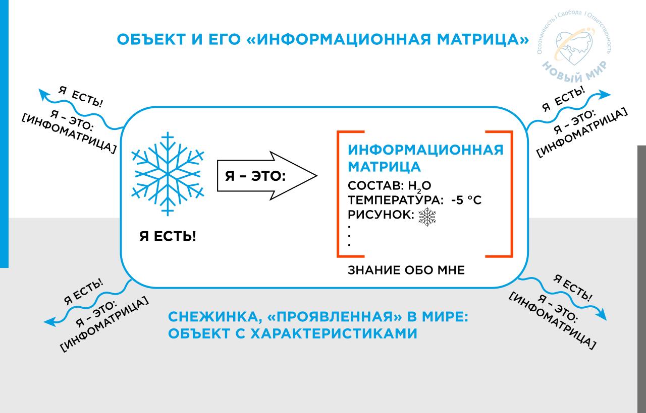 Skhema Obekt i ego informacionnaya matrica