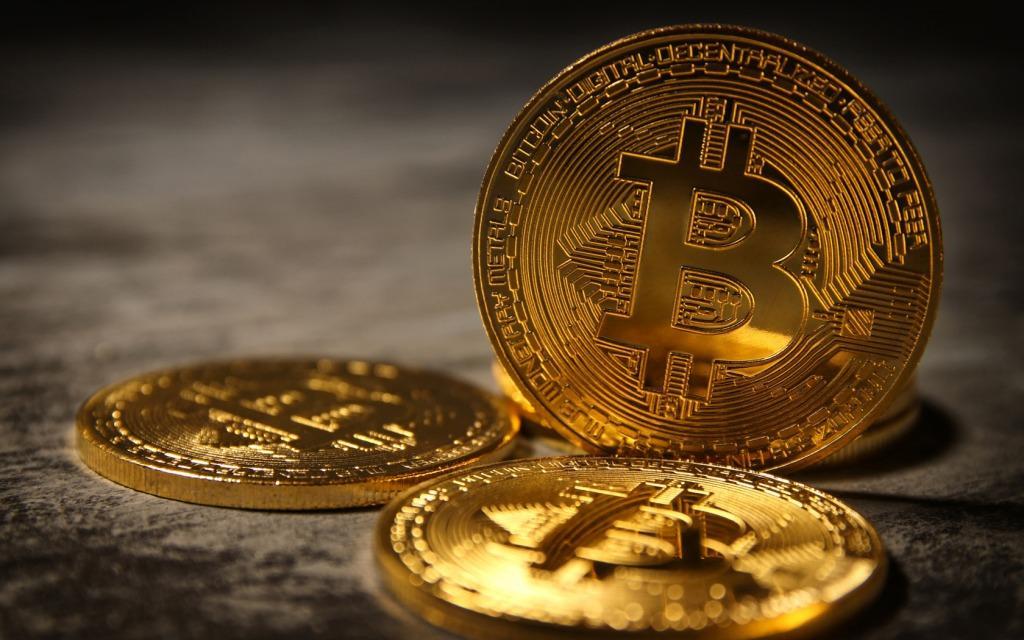 bitkoin-monety Casascius simvol bitkoina