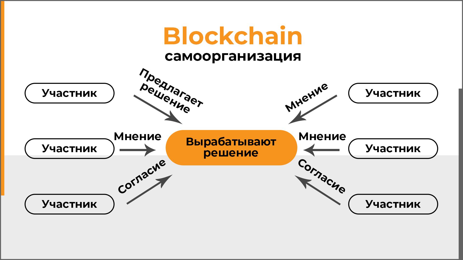 Samoorganizaciya v tekhnologii blokchejn