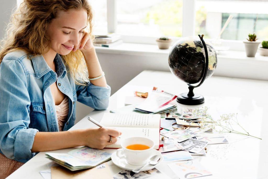 Ведите дневник благодарностей чтобы себя принять